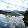 朽木ゴルフ場の近くの高岩橋からの景色(滋賀県高島市朽木宮前坊)