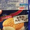 グリコ:ミニセレ全粒粉クッキーサンド