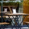 カフェスペース、オープン