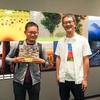 8/30(水) 風景写真家・佐藤尚さんの展示に行ってきました