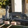 尾道の神社でマボロシの神獣を見た(ふたたび木枯し紋次郎のタイトル風に)