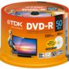 TDK 録画用DVD-R デジタル放送録画対応(CPRM) 1-16倍速