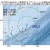 2017年08月15日 00時03分 北海道東方沖でM3.2の地震