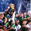 ラグビーワールドカップ終結