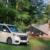 ステップワゴンで初キャンプ。ミニバンの凄さ@駒出池キャンプ場