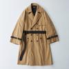 2月16日(土) 21:00 Wide Sleeve Belted Trench Coat