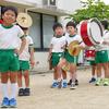 鼓笛隊の練習を始めています