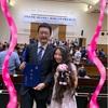 旦那さん博士号取得!! 授与式のため一緒に東京農工大学 農学部の講堂へ!!