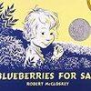 アメリカの現役お母さんに紹介してもらった絵本「Blueberries for Sal」を紹介します!