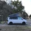 キャンプ53 '21.3/6-7 -冬キャンプ、リビングは鉄骨+寝床はキャンカーが最強-