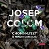 スペイン・ピアノ界の知る人ぞ知る巨匠ジュゼップ・コロン、ユードラ・レコーズ4枚目のアルバムはショパンとリストのロ短調ソナタ DSD256 (11.2MHz)録音