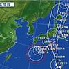 台風が三個同時に発生…