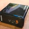 充電アダプター内蔵モバイルバッテリー10000mAhは凄く便利【Philipsハイブリッドアダプター「DLP7716C」】