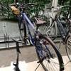 半年振りに自転車に空気を入れる