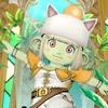 【ドワ子のドレア】モーグリ帽の配達員コーデ