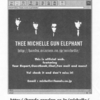 This is thee michelle gun elephant official web