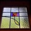 コロナ禍の別荘DIY ステンドグラスの玄関ドア
