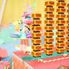Switch ヨッシークラフトワールド 感想5 お菓子の国のヨッシー in メルヘンランド