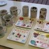 「オリジナル陶器グッズを作ろう」の作品引き渡し