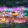 2019年大邱E-ワールド「星の光、桜祭り」開催