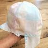 乳児用帽子を作ってみた