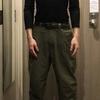 チビ(低身長)のワイドパンツ履き方「後編」