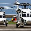 海上自衛隊のSH-60K哨戒ヘリコプター