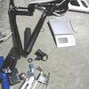 自転車改修作業