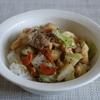 53冊目『とびっきりの、どんぶり』から5回めは野菜たっぷり炒め丼