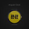 Angular Clock Watch Face : ロフトのロゴ風時計、Angular ClockのWatch Faceを作成しました。