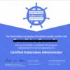 Certified Kubernetes Administrator (CKA) 試験に合格しました