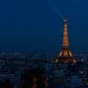 フランス パリのトランジットで 14 夜景を見ながら運命の出会い