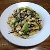 大豆のパスタ④和風ソース