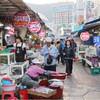 【日帰り釜山】チャガルチ市場でヌタウナギを食す
