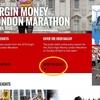 ロンドンマラソンのエントリー詳細