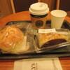 タリーズコーヒーさんのニューヨークチーズケーキ with クランブル