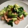 今日のお昼ごはん 2/27(水)〜キャベツと小松菜の緑色〜