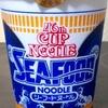 46周年のカップヌードル・シーフードヌードルを食べました!