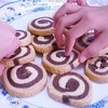 【ゆるゆるな日常】孫と一緒にアイスボックスクッキーを作りました。