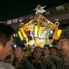 こち亀に出てたLEDで発光するお神輿 亀有例大祭