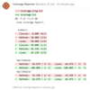 Gitlab のマージリクエストで PHPUnit のコードカバー率の差分を表示する