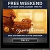 Counter-Strike: Global Offensiveが33%オフ、フリーウィークエンド開催