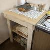 食洗機を置く台を作った