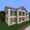 【Minecraft】豪邸を作る① 建物編【コンパクトな街をつくるよ24】