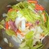 ホットクック: ビーフンのレシピに挑戦。手動の麺を茹でるコースで3分!
