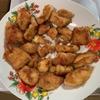鶏の胸肉の料理です。