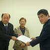 22日、生活道路整備要求で県南建設事務所と交渉。