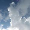 雲からもらうメッセージ