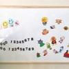 壁面ホワイトボードで楽しく知育!お絵かき&マグネット遊び!