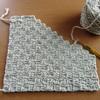 かぎ針編みのシートカバー